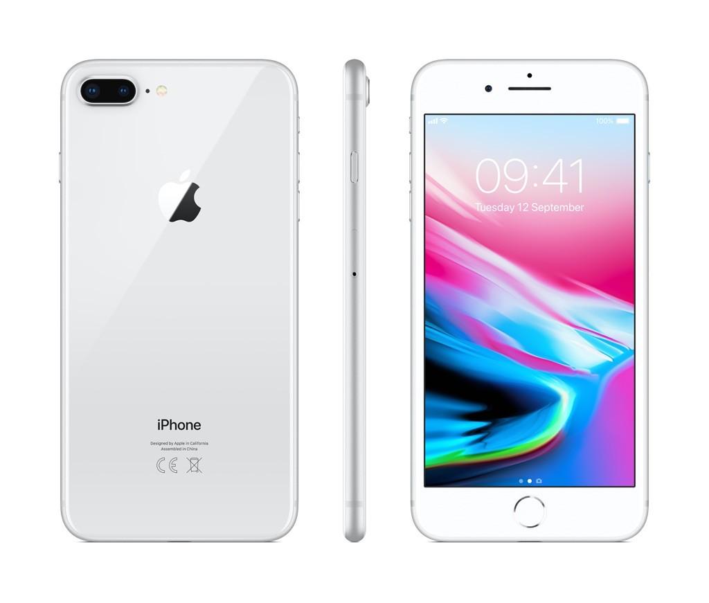 iPhone 8 Plus 64GB stříbrný (otevřený, záruka a odpovědnost z vad 12 měsíců u iSTYLE)