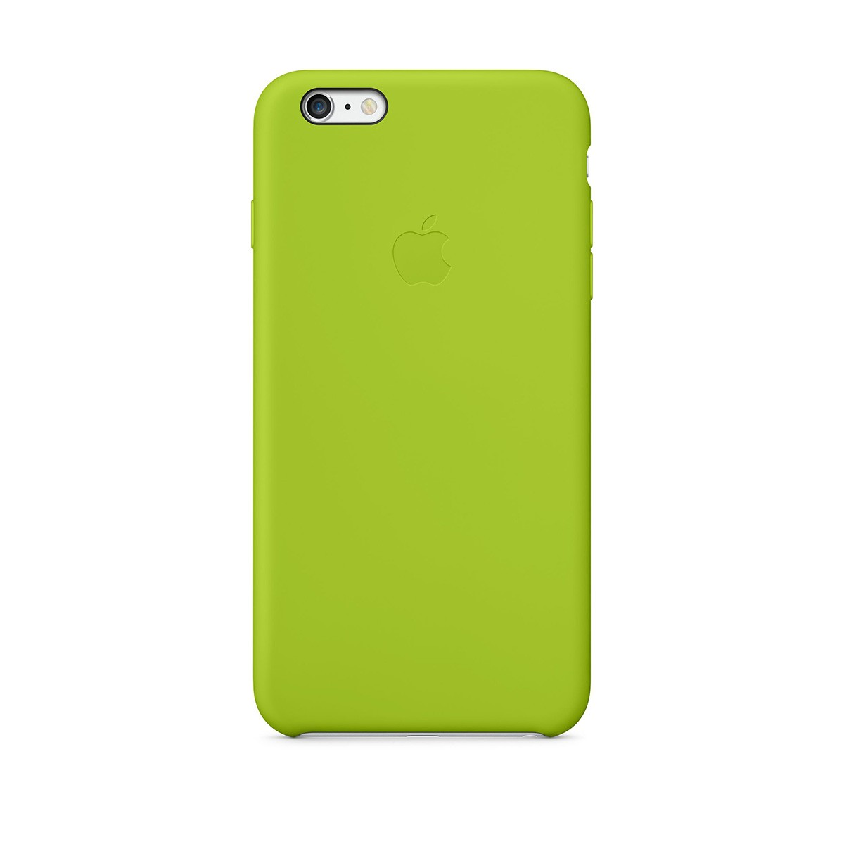 Apple Silikonový kryt na iPhone 6 Plus - zelený
