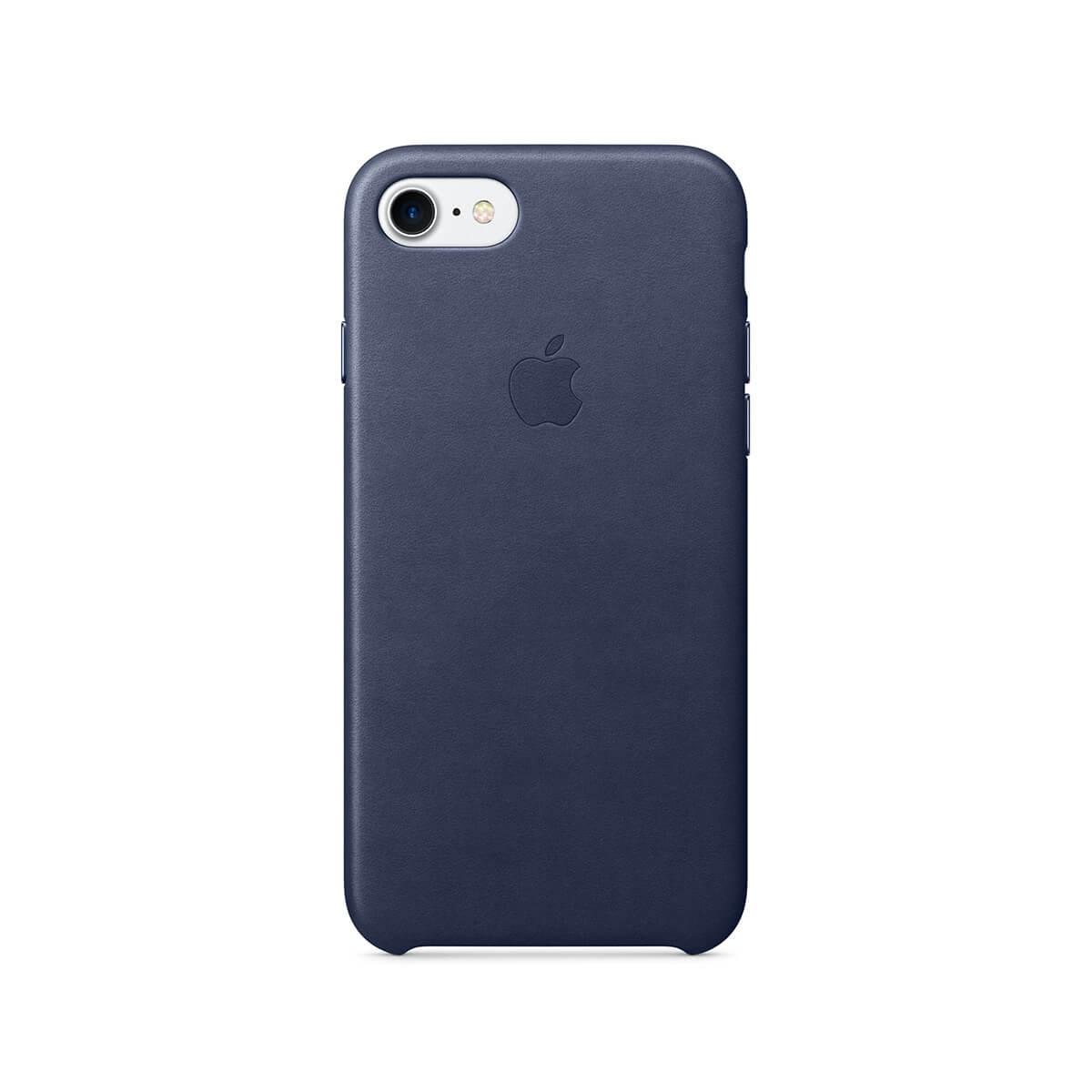 Apple kožený kryt na iPhone 7 – půlnočně modrý mmy32zm/a