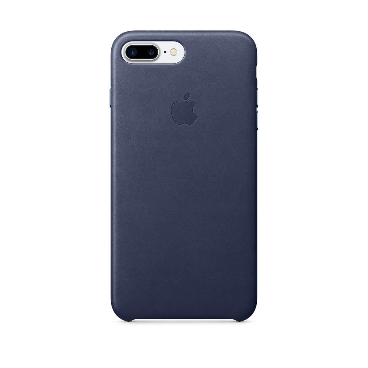 Apple kožený kryt na iPhone 7 Plus – půlnočně modrý mmyg2zm/a