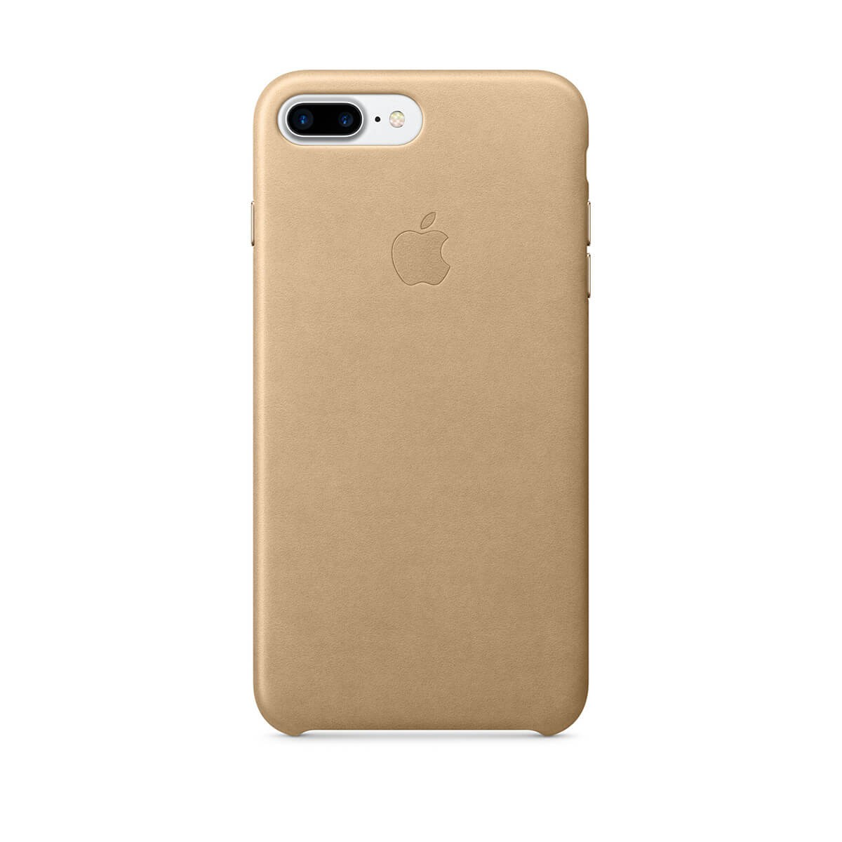 Apple kožený kryt na iPhone 7 Plus – žlutohnědý