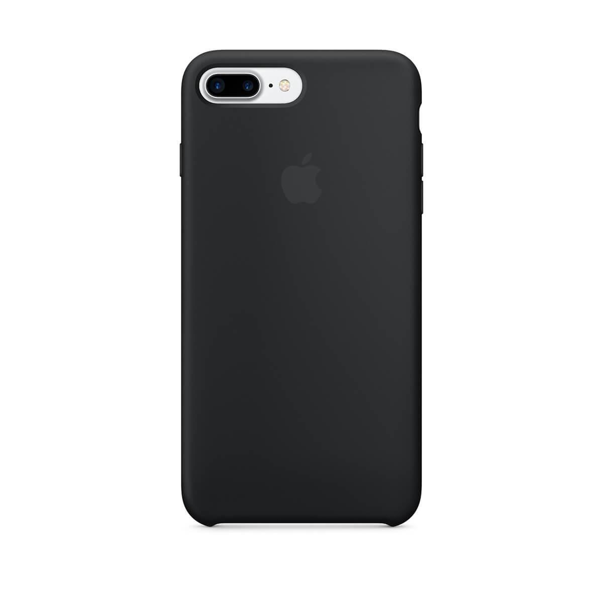 Silikonový kryt na iPhone 7 Plus – černý mmqr2zm/a