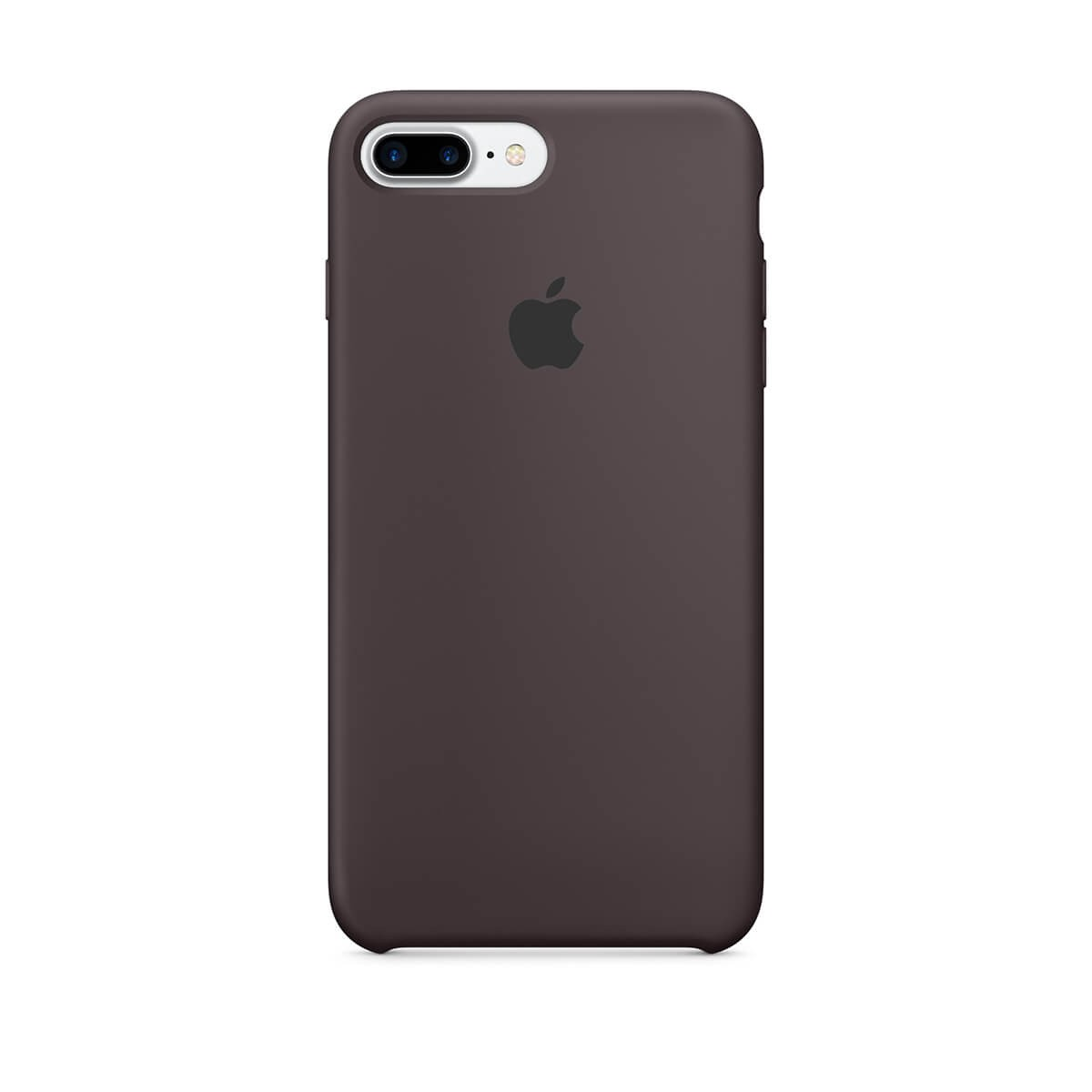 Silikonový kryt na iPhone 7 Plus – kakaově hnědý mmt12zm/a