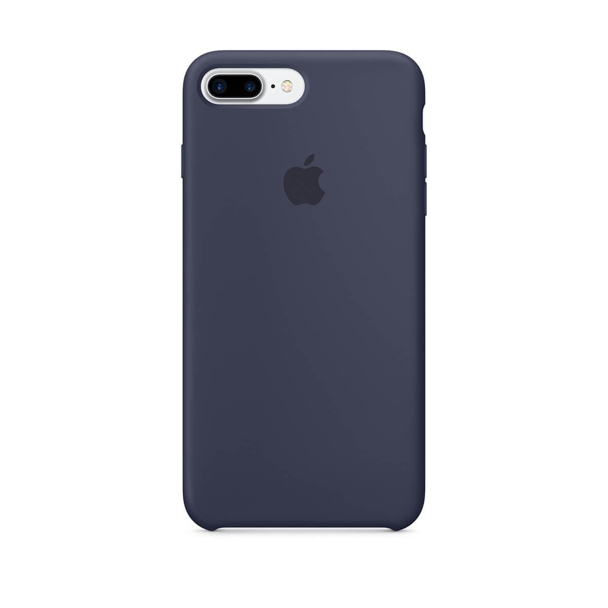 Silikonový kryt na iPhone 7 Plus – půlnočně modrý mmqu2zm/a