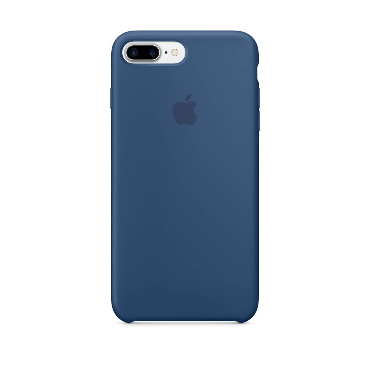 Silikonový kryt na iPhone 7 Plus – mořsky modrý mmqx2zm/a