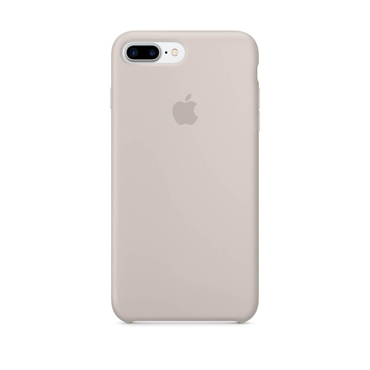 Silikonový kryt na iPhone 7 Plus – kamenně šedý mmqw2zm/a