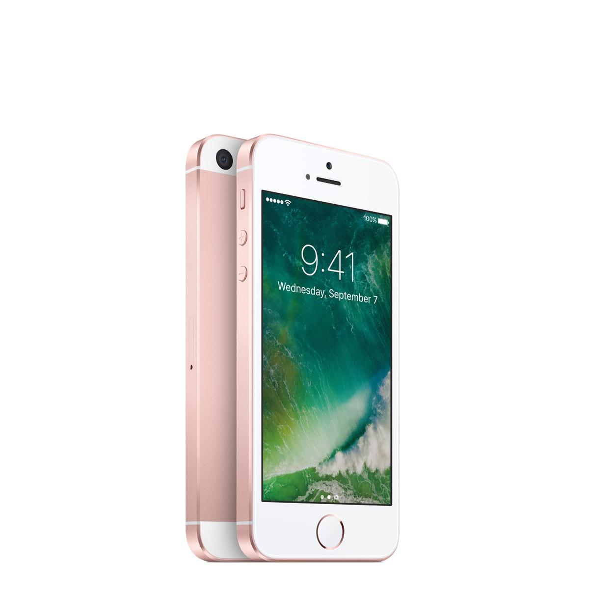 Apple iPhone SE 128GB - růžově zlatý (otevřený, použitý, záruka a odpovědnost z vad 12 měsíců u iSTYLE)