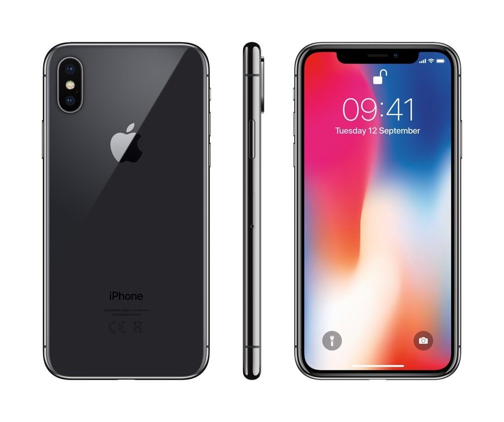 iPhone X 64GB vesmírně šedý (rozbalený, záruka a odpovědnost z vad 12 měsíců u iSTYLE)