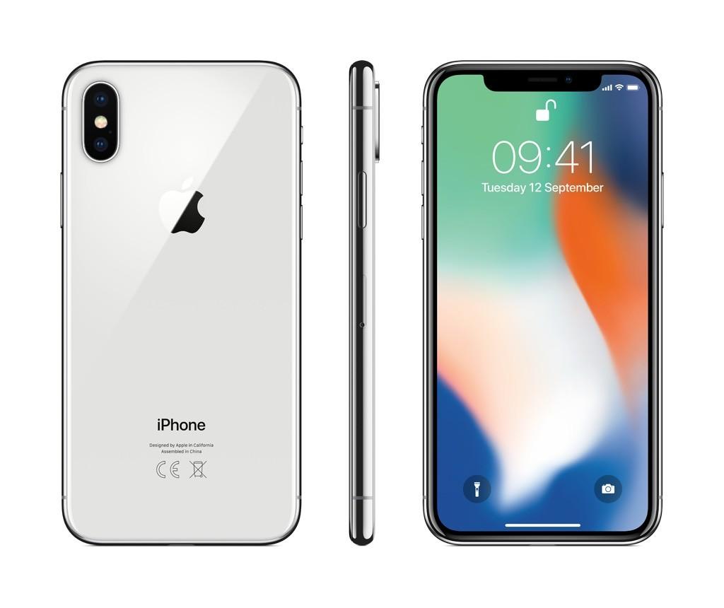 iPhone X 64GB stříbrný (rozbalený, záruka a odpovědnost z vad 12 měsíců u iSTYLE)