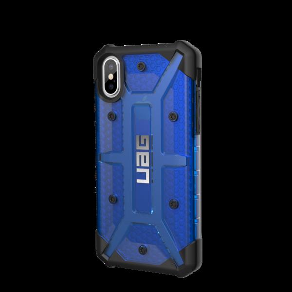 UAG Plasma, kryt pro iPhone X - modrý