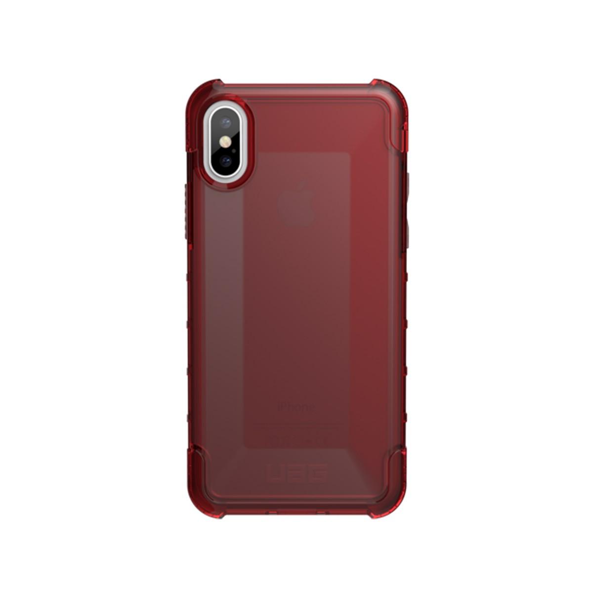 Kryt na iPhone X UAG Plyo - červený