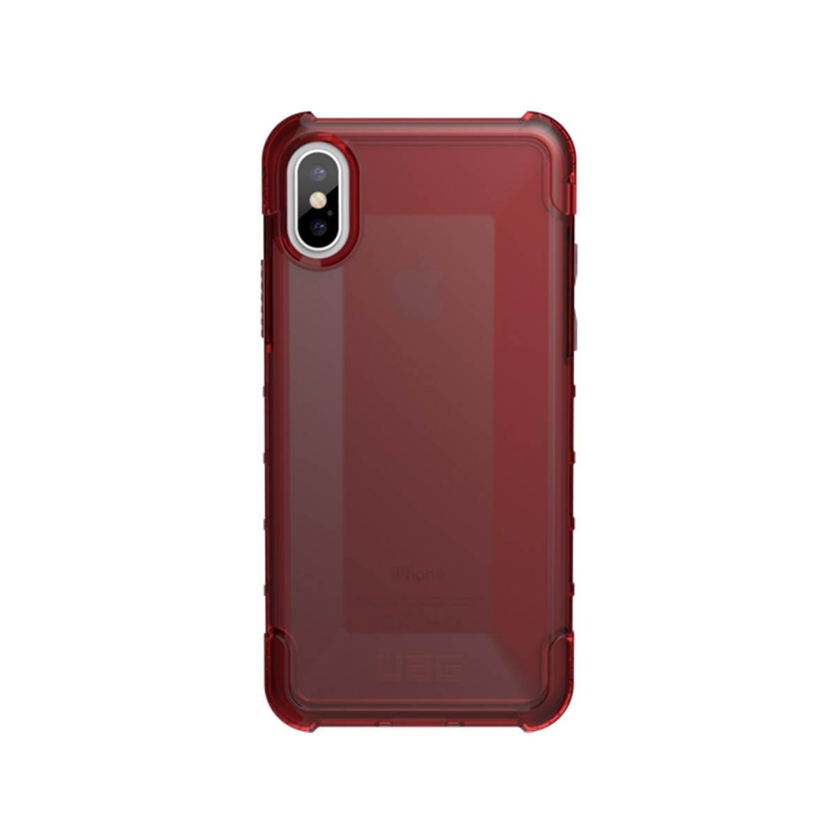 UAG Plyo, kryt pro iPhone X - červený