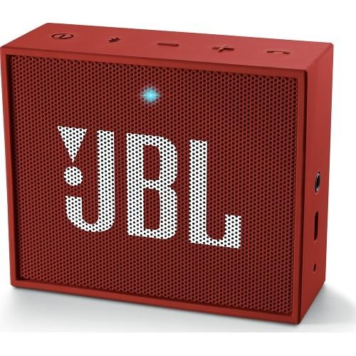 JBL GO, červený přenosný Bluetooth reproduktor