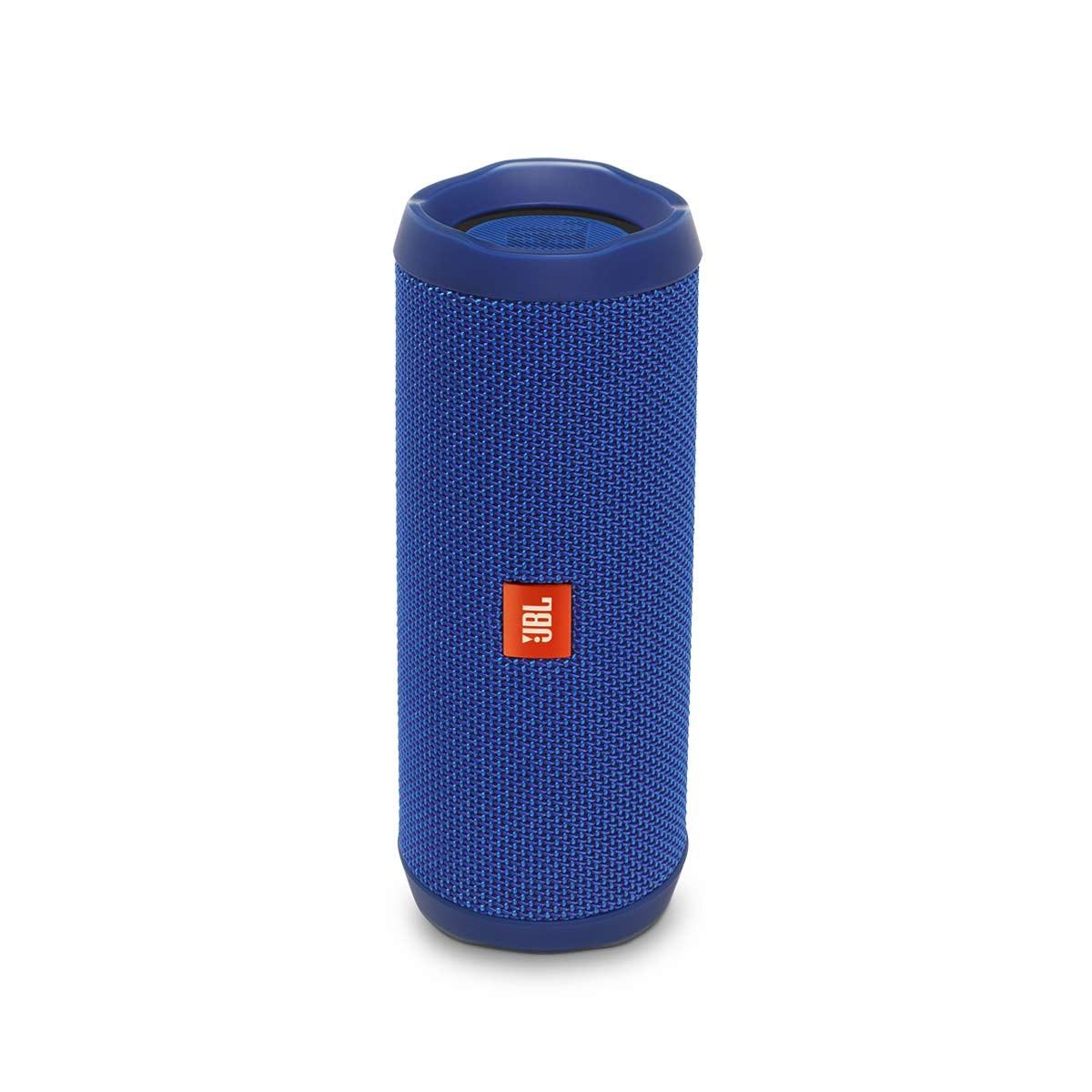 JBL Flip 4, přenosný voděodolný Bluetooth reproduktor - modrý