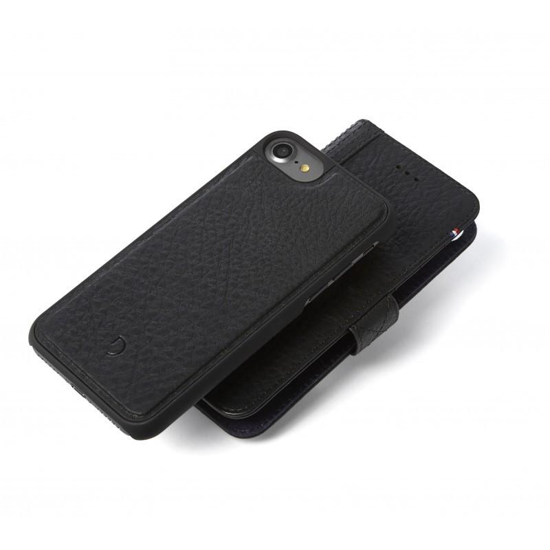 Obal na iPhone 7 Decoded Wallet 2 v 1 - černý