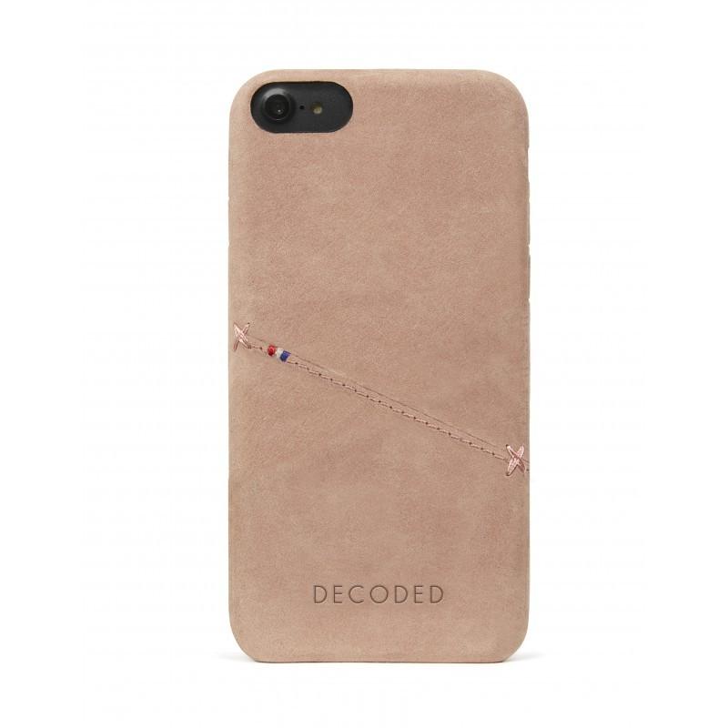 Kryt na iPhone 7 Decoded Back Cover - růžový
