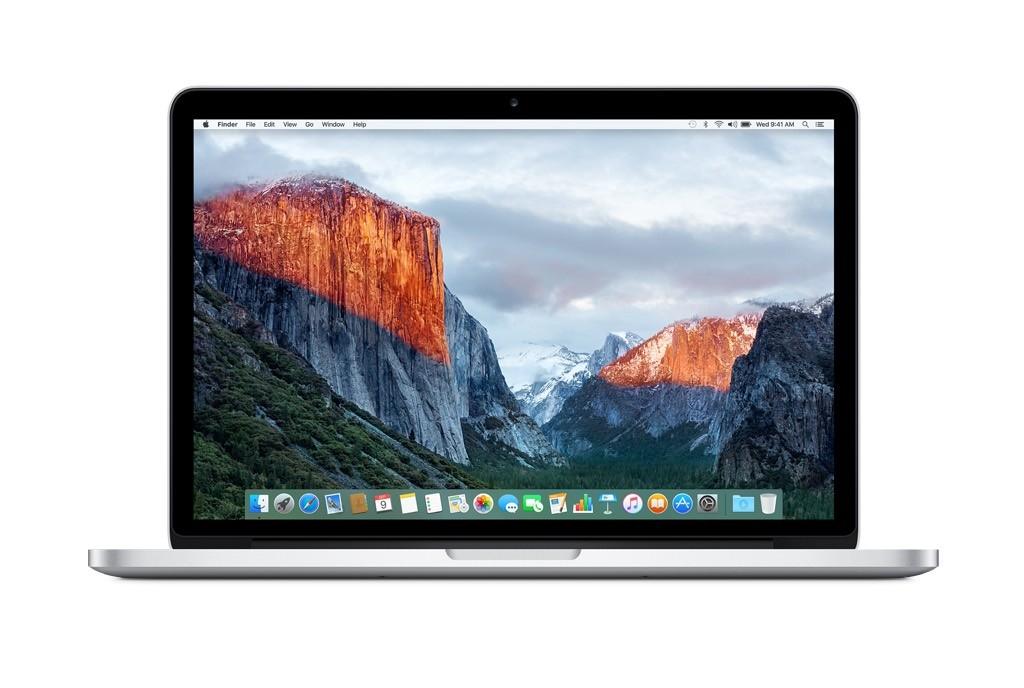 """MacBook Pro 13"""" 2,7 GHz s Retina displejem, 256 GB (2015) - servisovaný, záruka a odpovědnost z vad 12 měsíců, poškrábaný display"""