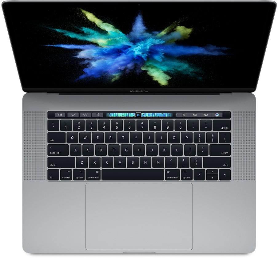 """MacBook Pro 15"""" Touch Bar a Touch ID 2,9 GHz, 512 GB úložiště – vesmírně šedý (mptt2cz/a)"""