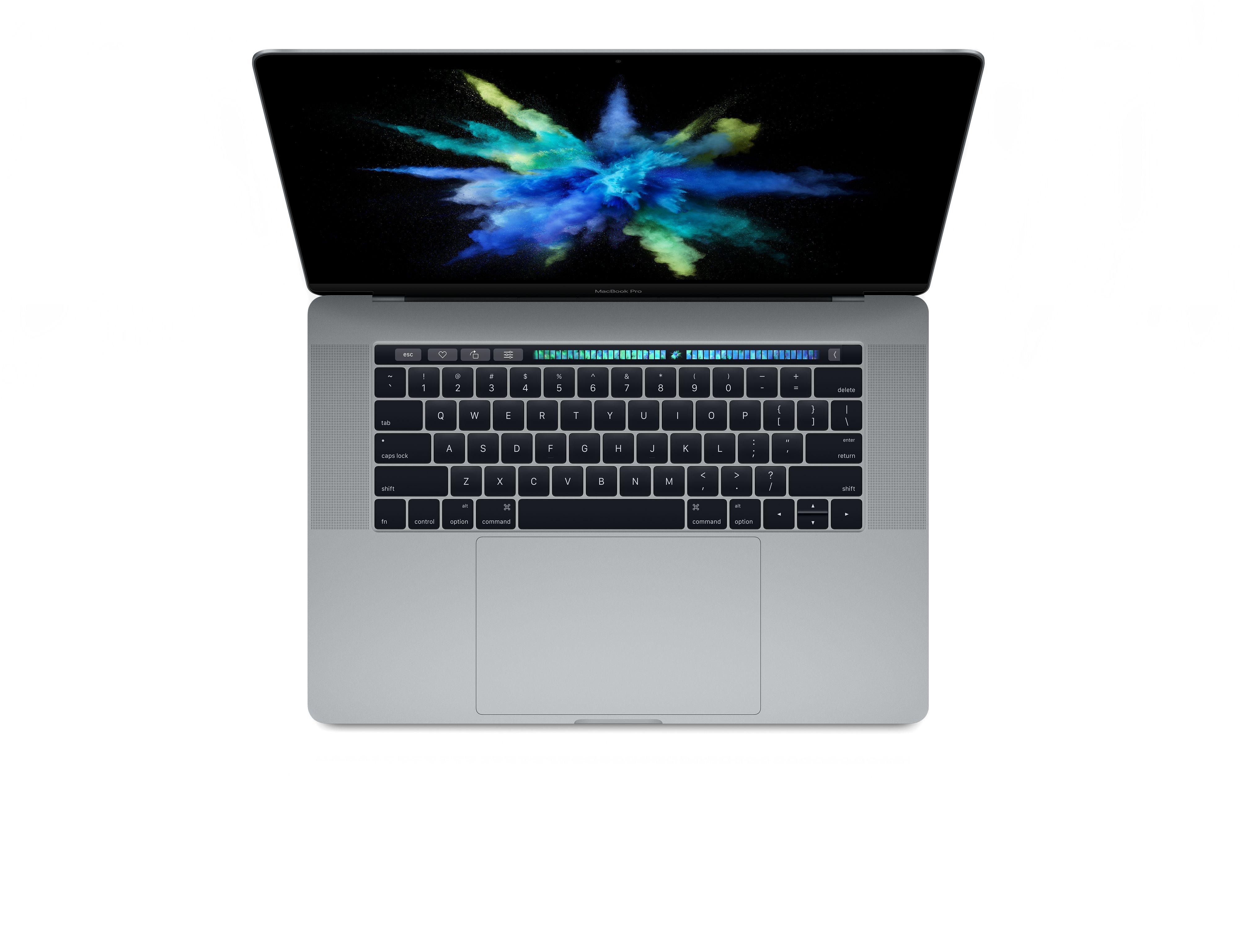 """MacBook Pro 15"""" Touch Bar 512GB vesmírně šedý (servisovaný a použitý, záruka a odpovědnost z vad 12 měsíců u iSTYLE)"""