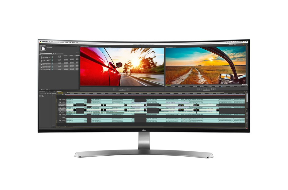 LG 21:9 Curved UltraWide™ QHD IPS Monitor 34UC98