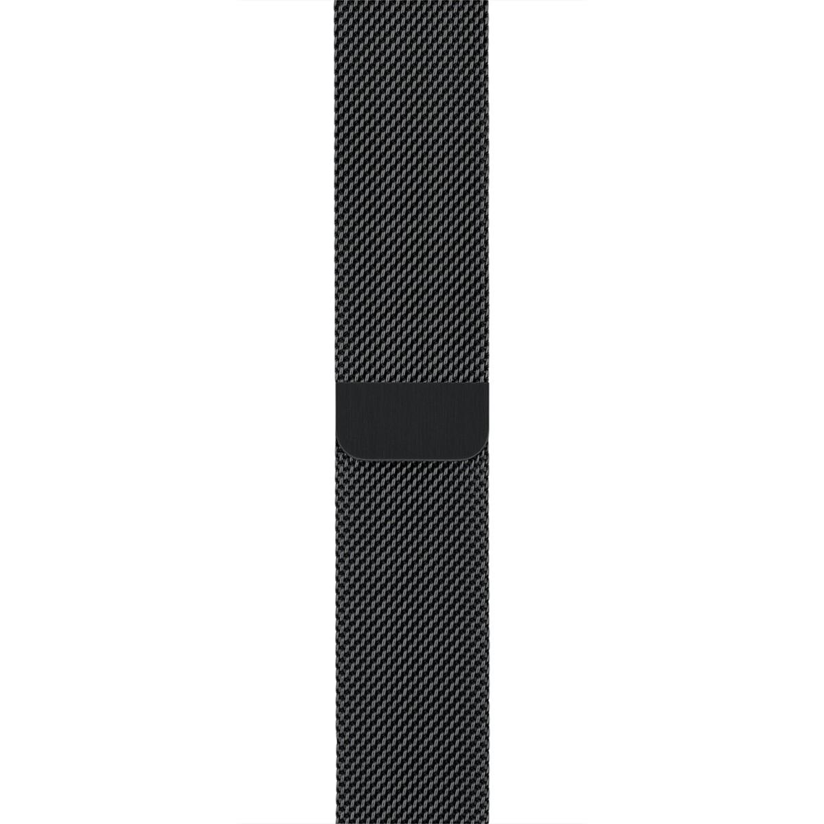 Apple 42mm vesmírně černý milánský tah (řemínek)