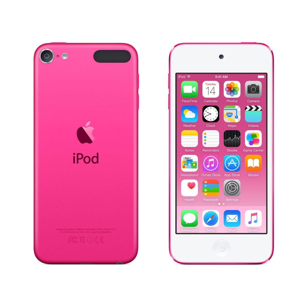iPod touch 16GB, růžový mkgx2hc/a