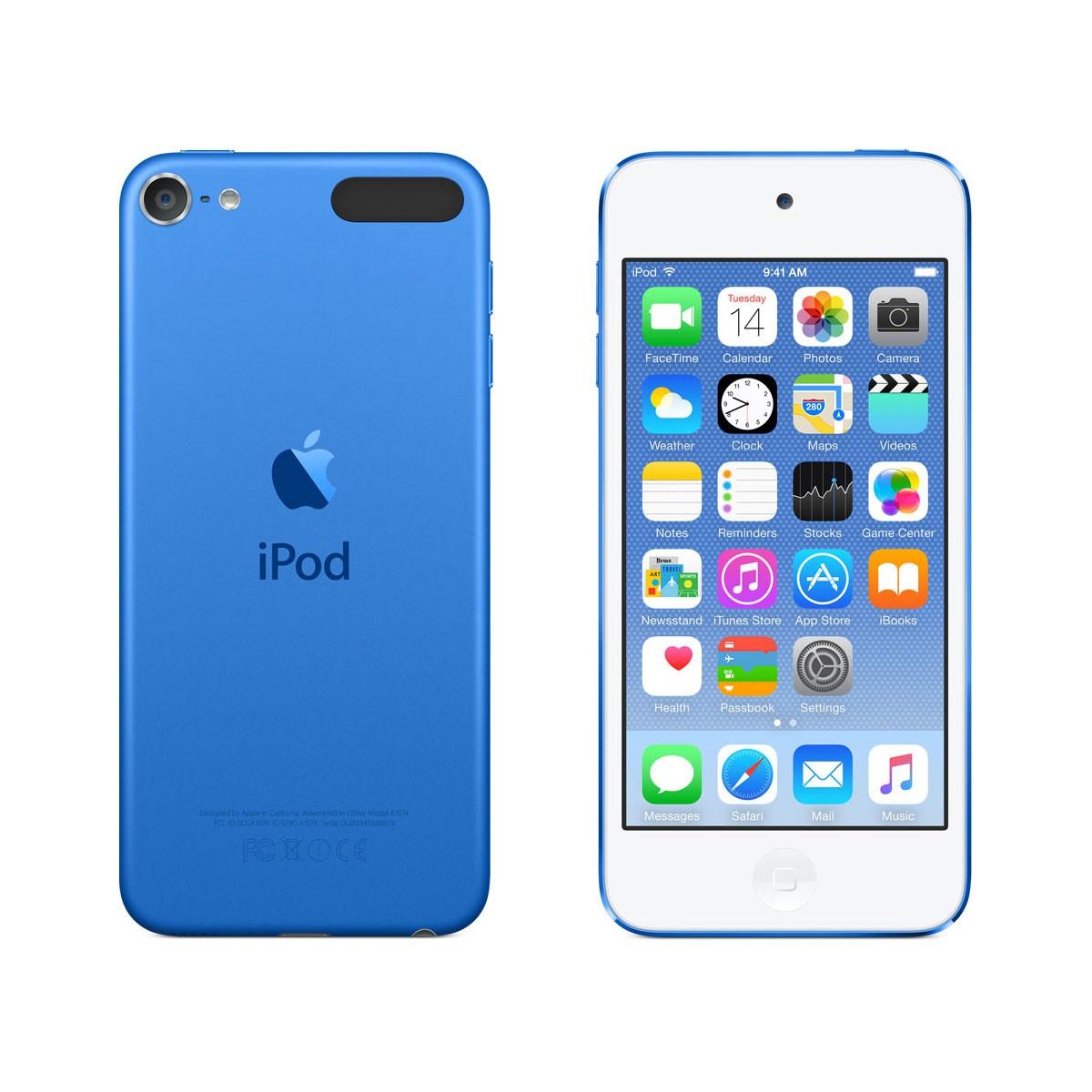 iPod touch 64GB, modrý