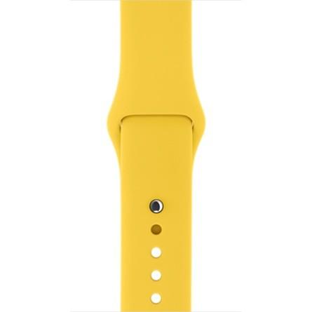 Apple 38mm žlutý sportovní řemínek – S/M a M/L