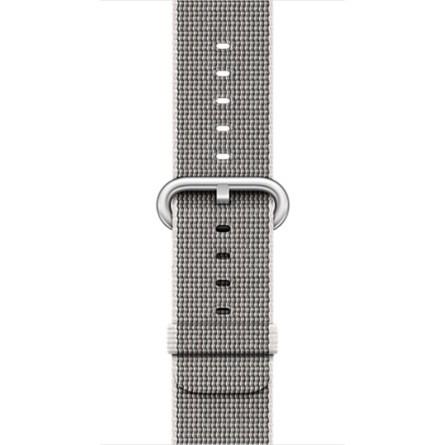 Apple 38mm perlově šedý řemínek z tkaného nylonu