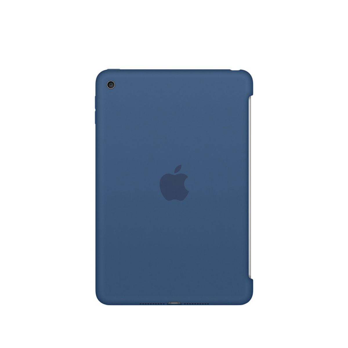 Apple Silikonové pouzdro na iPad mini 4 – mořsky modré