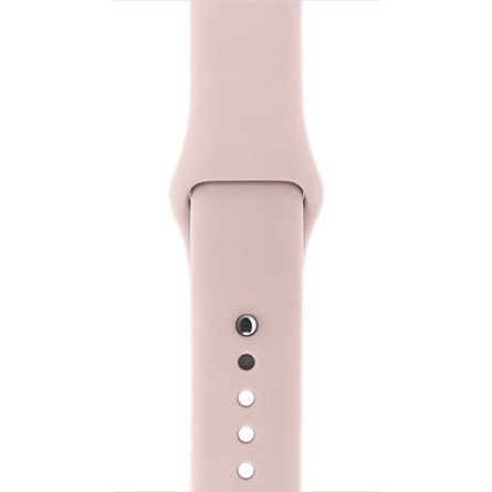 Apple 42mm pískově růžový sportovní řemínek – S/M a M/L