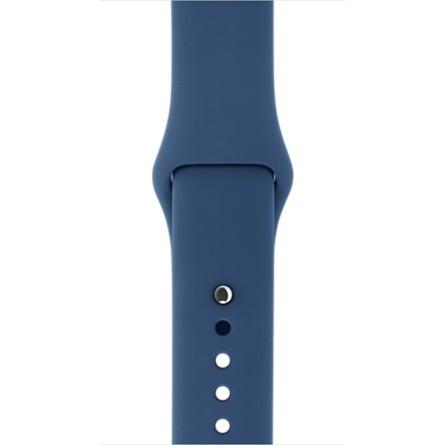 Apple 42mm mořsky modrý sportovní řemínek – S/M a M/L