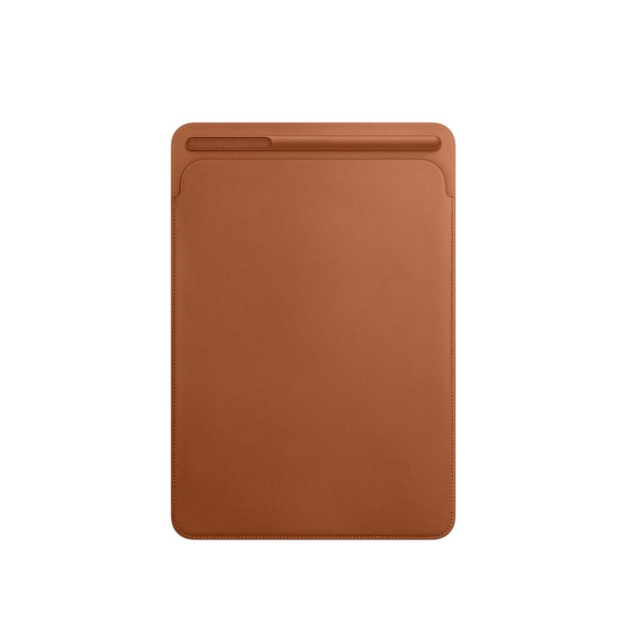 Kožený návlek na 10,5palcový iPad Pro - sedlově hnědý