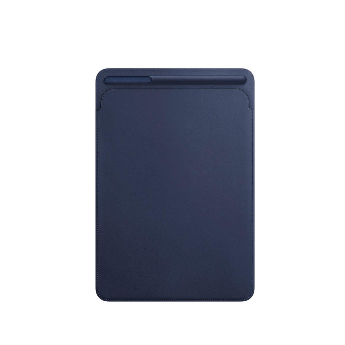 Kožený návlek na 10,5palcový iPad Pro - půlnočně modrý