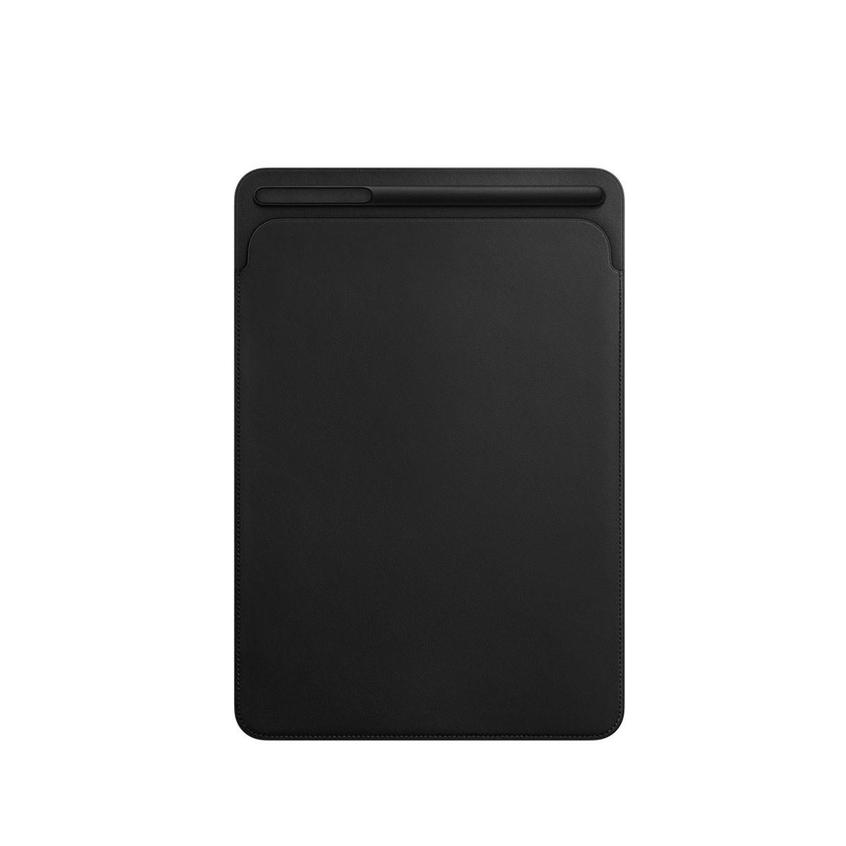 Kožený návlek na 10,5palcový iPad Pro - černý