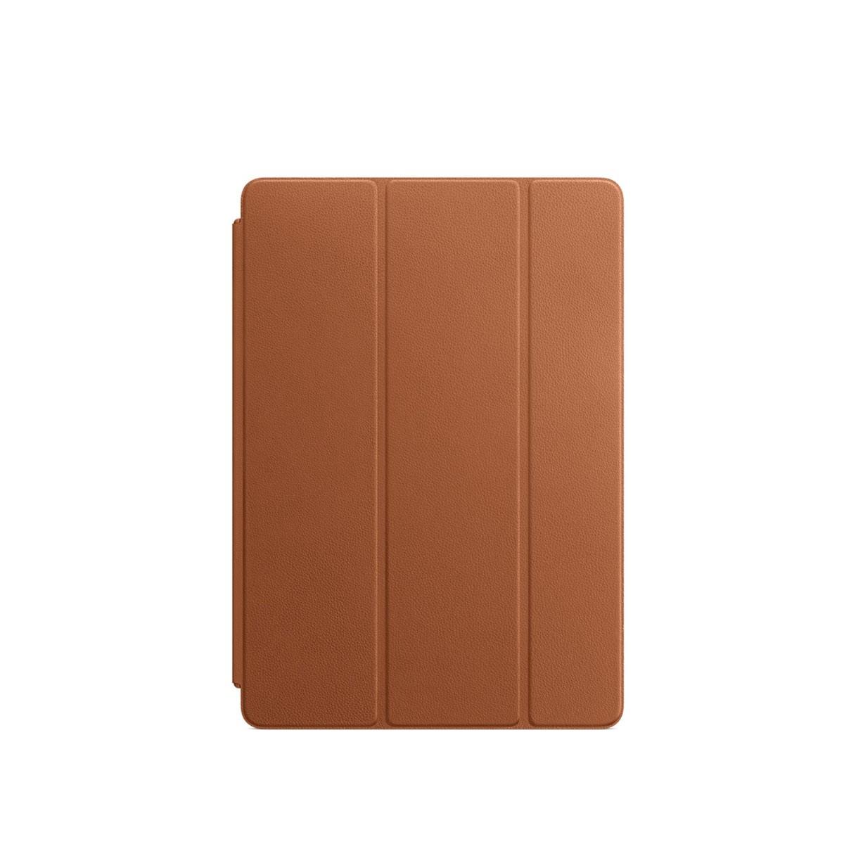 Kožený Smart Cover na 10,5palcový iPad Pro - sedlově hnědý