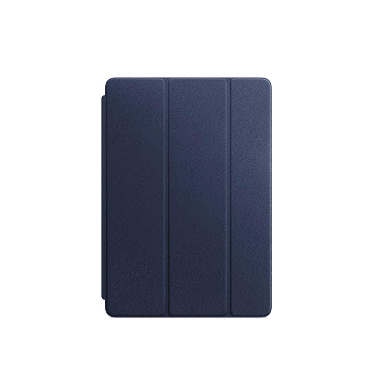 Kožený Smart Cover na 10,5palcový iPad Pro - půlnočně modrý