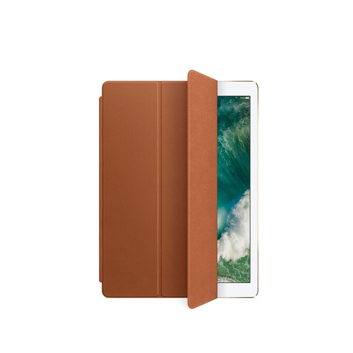Kožený Smart Cover na 12,9palcový iPad Pro - sedlově hnědý