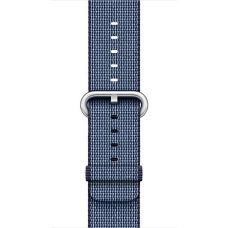 Apple - 38mm půlnočně modrý řemínek z tkaného nylonu