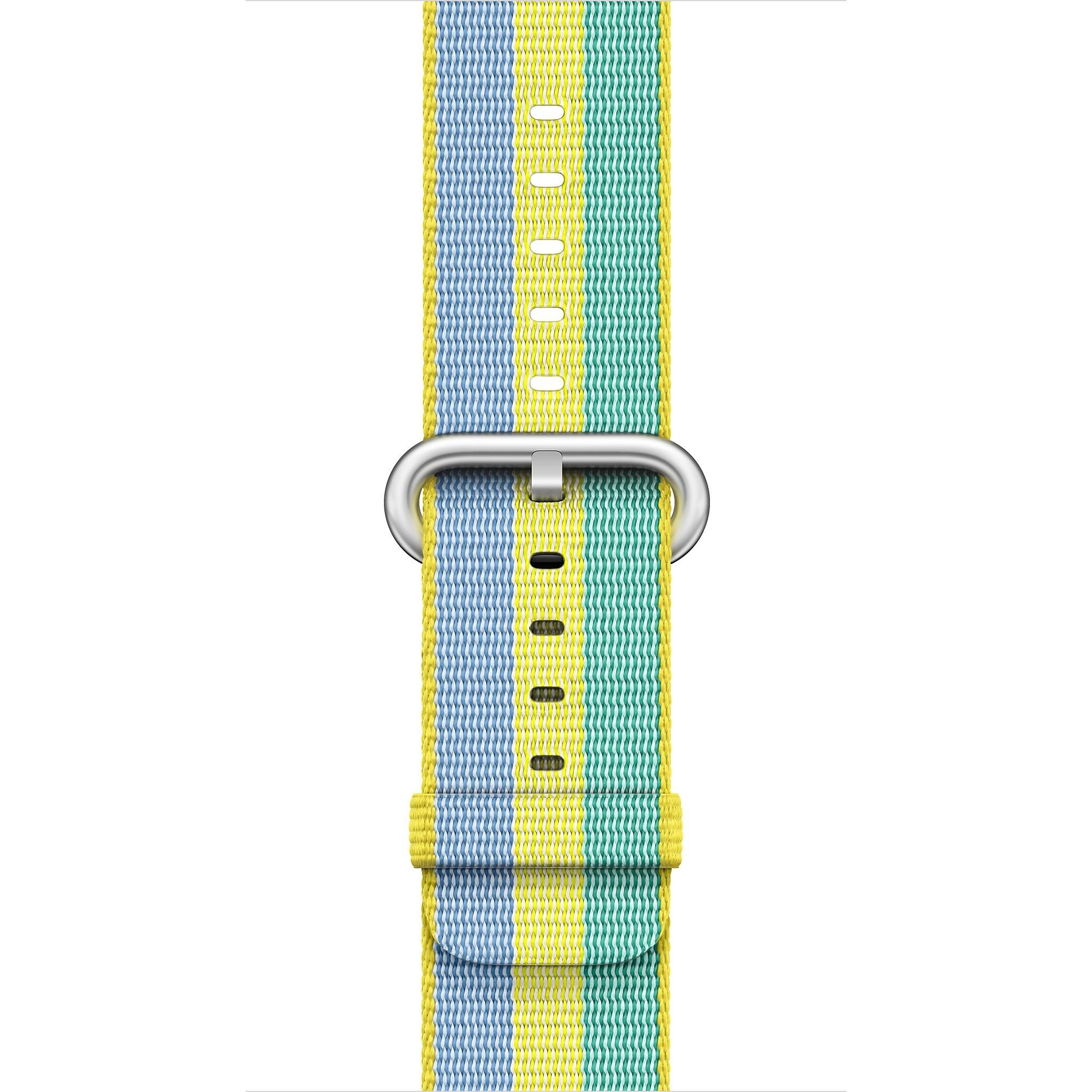Apple - 42mm pampeliškový řemínek z tkaného nylonu