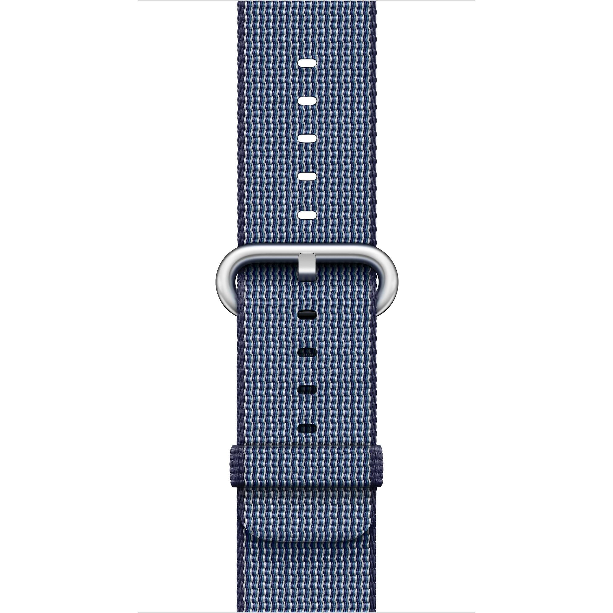 Apple - 42mm půlnočně modrý řemínek z tkaného nylonu