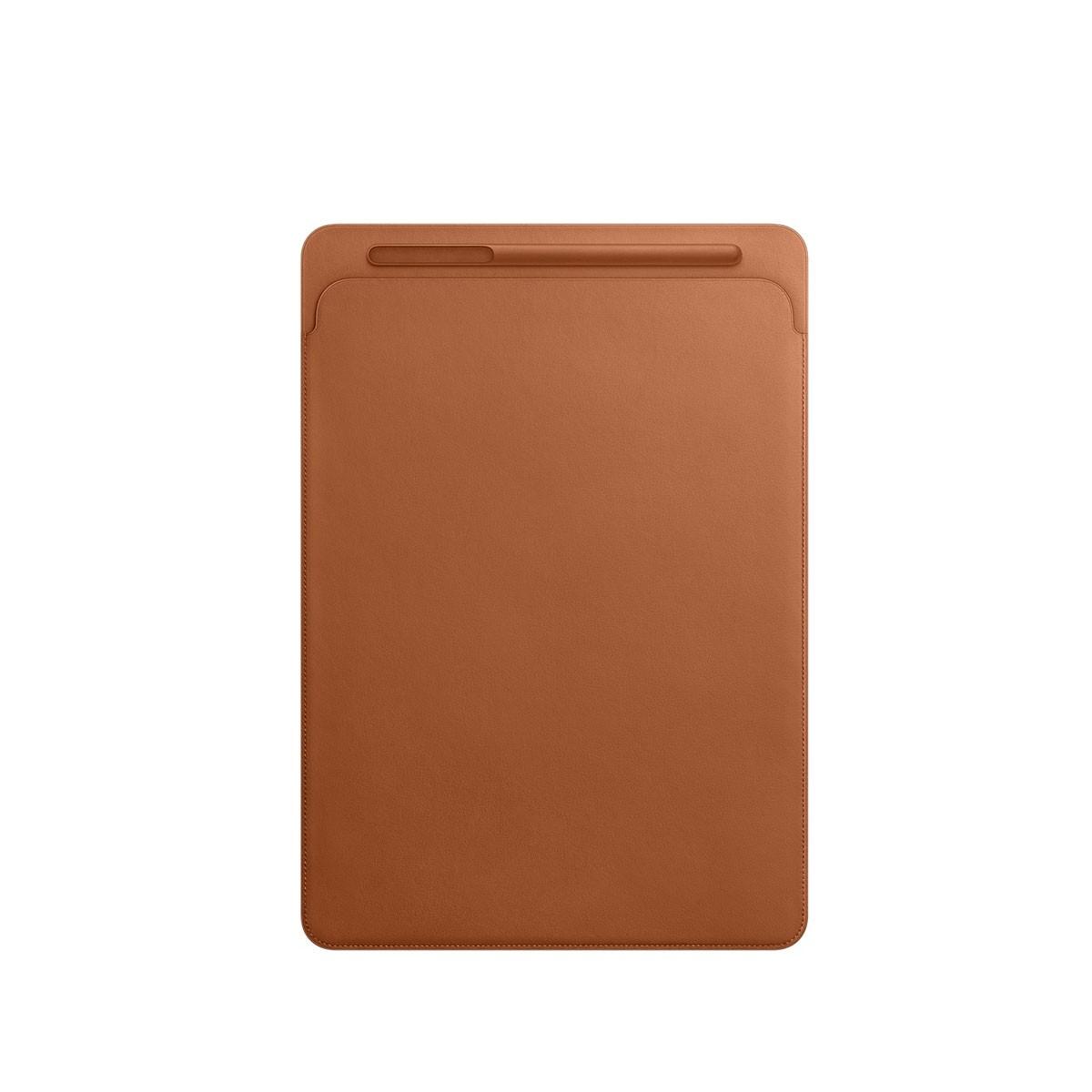 Kožený návlek na 12,9palcový iPad Pro - sedlově hnědý