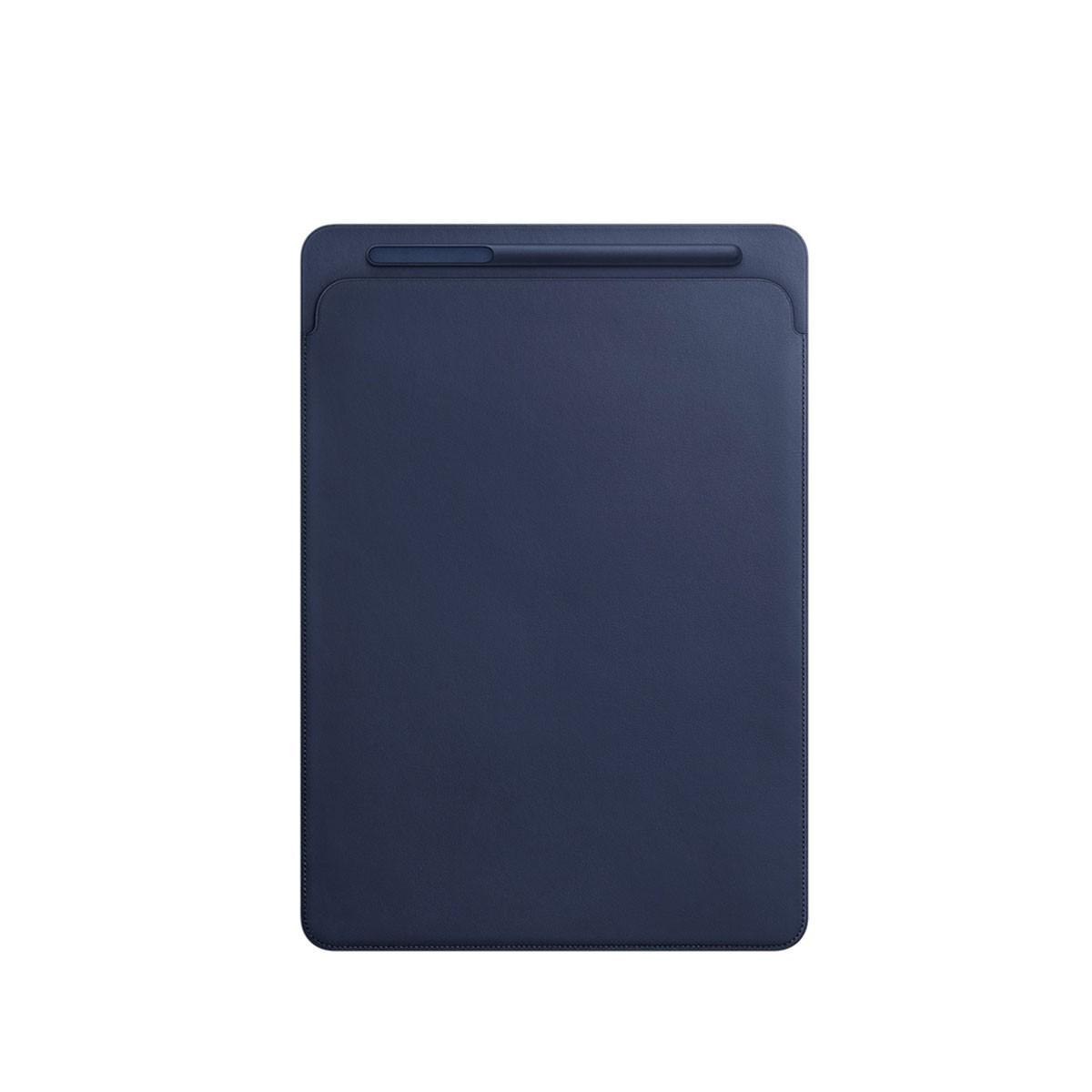 Kožený návlek na 12,9palcový iPad Pro - půlnočně modrý