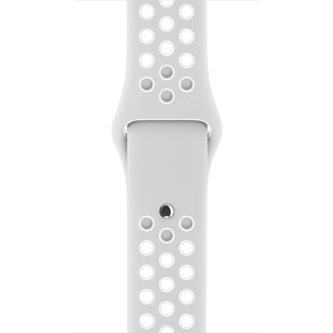 Apple - 38mm platinový/bílý sportovní řemínek Nike - S/M a M/L