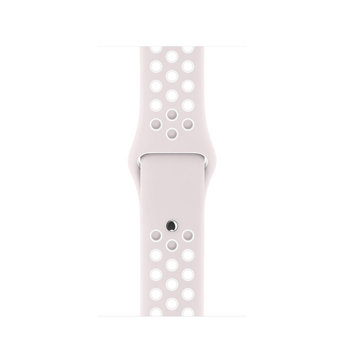 Apple - 42mm světle fialový / bílý sportovní řemínek Nike - S/M a M/L