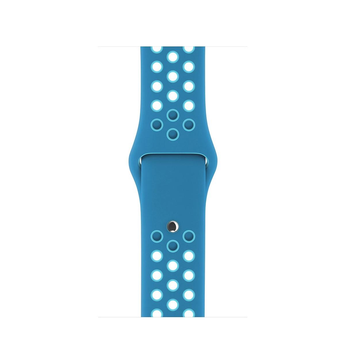 Apple - 42mm orbitově/gamma modrý sportovní řemínek Nike - S/M a M/L