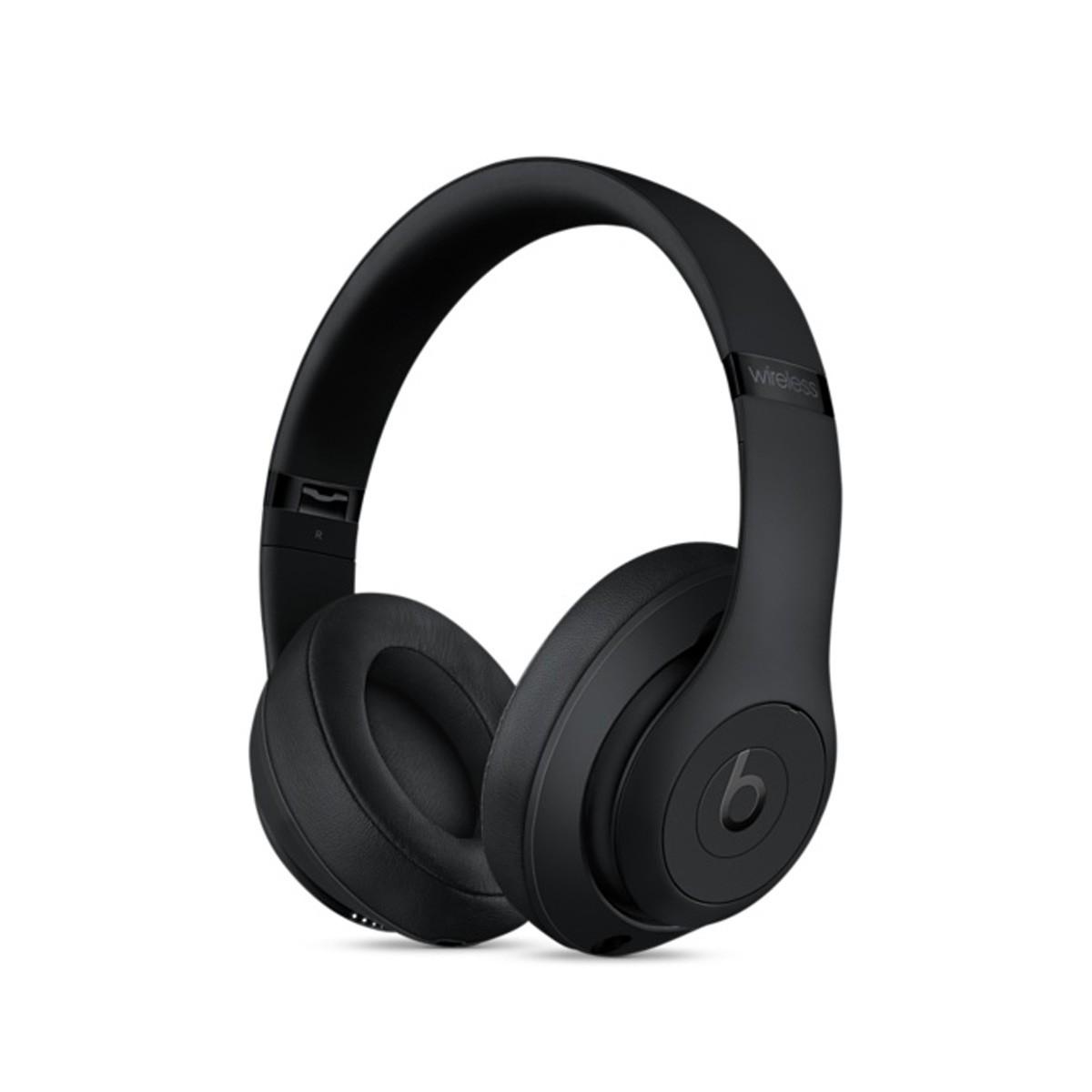 Sluchátka Beats Studio3 Wireless na uši – matně černá