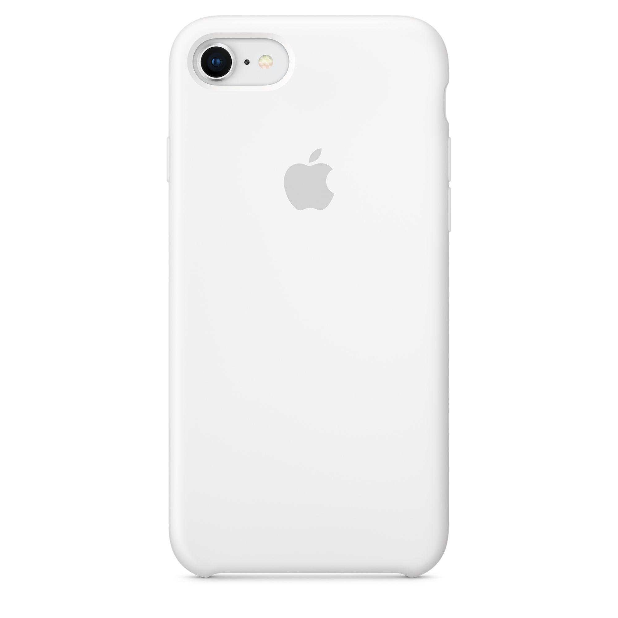 Apple silikonový kryt na iPhone 8 / 7 – bílý