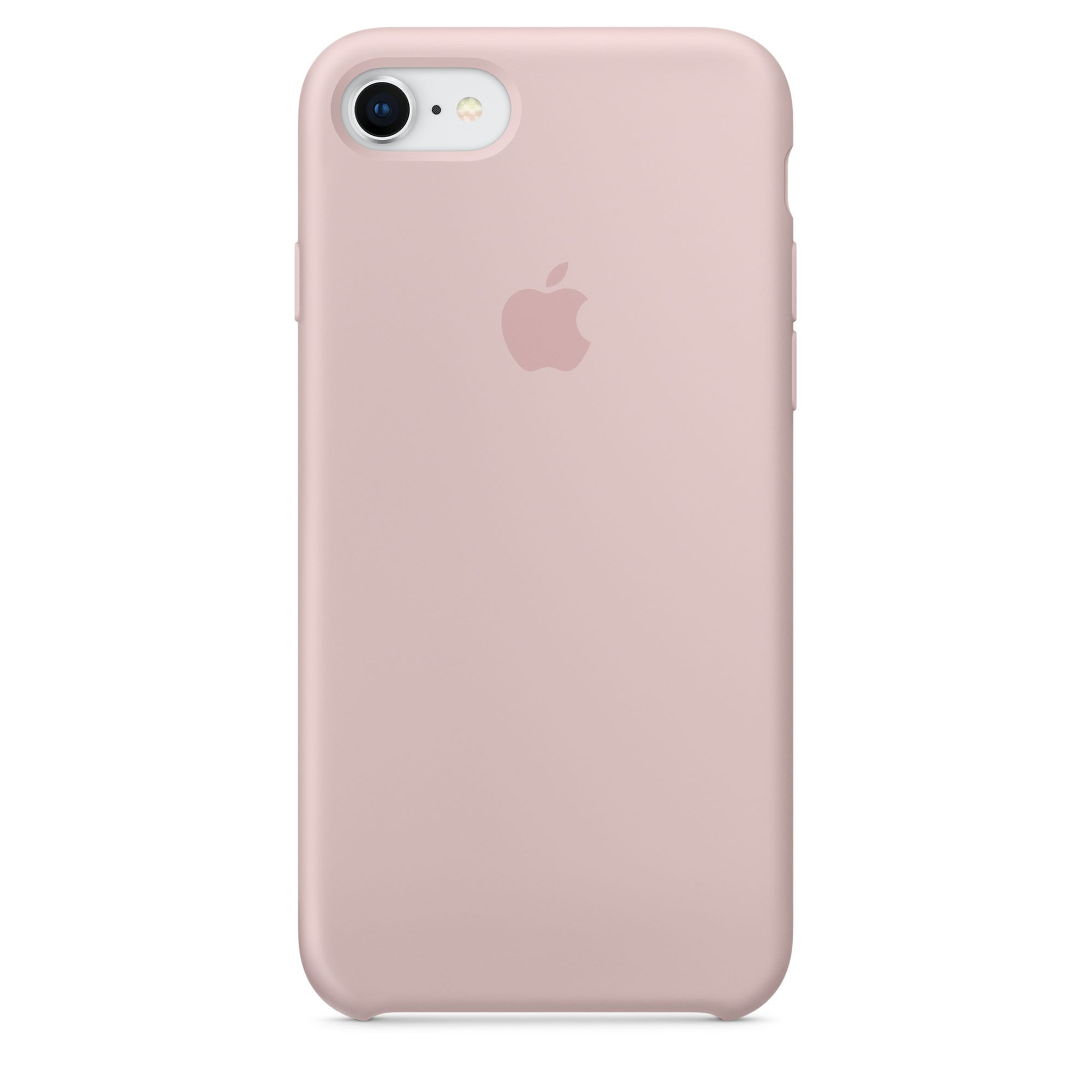 Apple silikonový kryt na iPhone 8 / 7 – pískově růžový