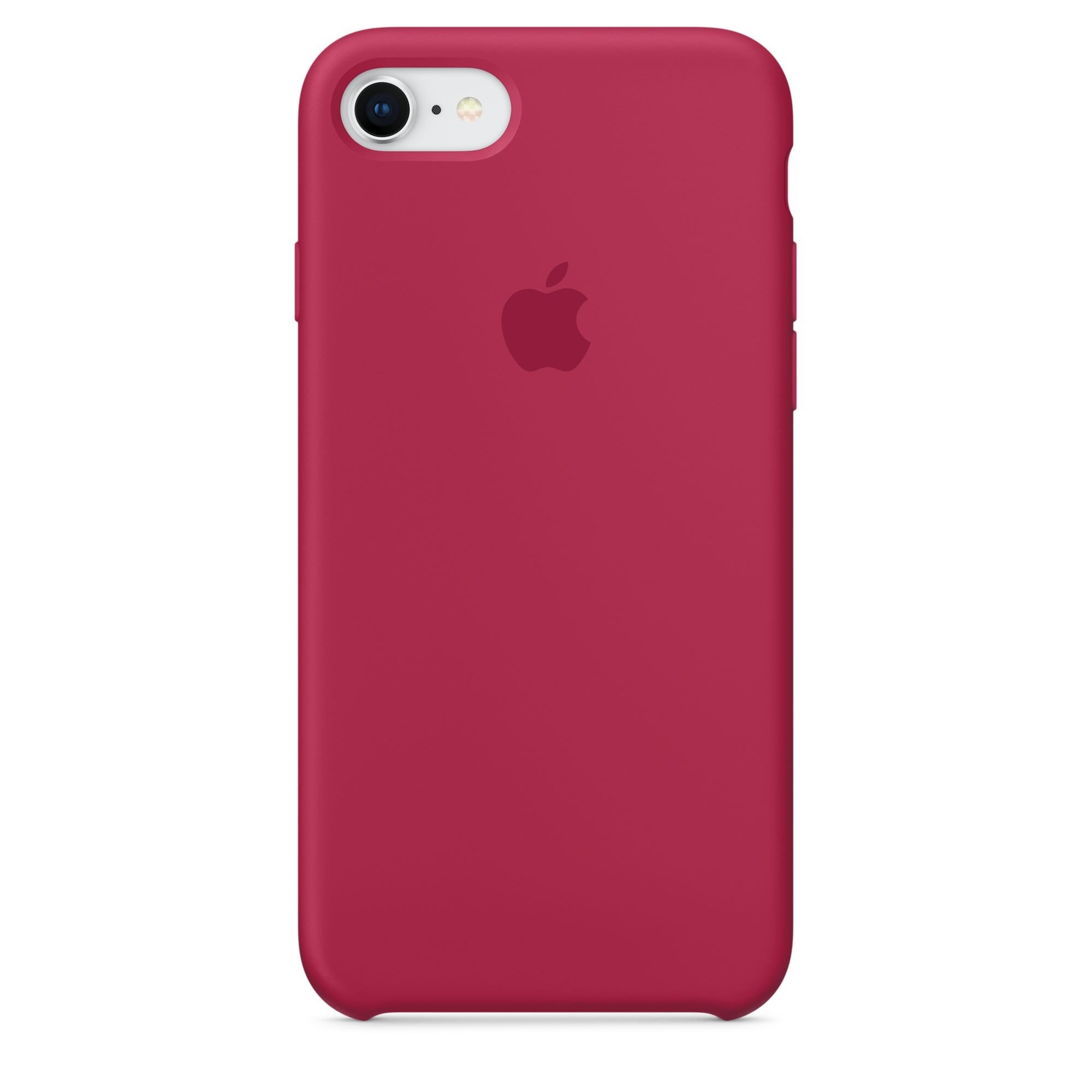 Apple silikonový kryt na iPhone 8 / 7 – vínový